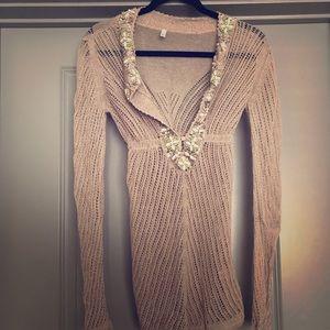 Victoria's Secret crochet Swim coverup.